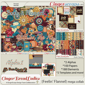 GingerBread Ladies MEGA Collab: Feelin' Flannel
