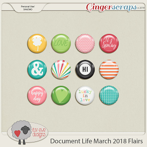 Document Life March 2018 Flairs by Luv Ewe Designs