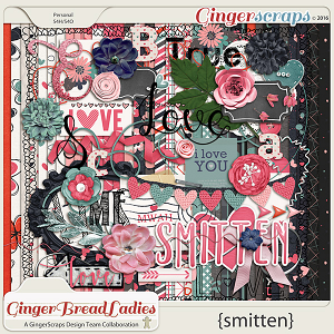 GingerBread Ladies Collab: Smitten