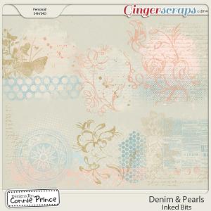 Retiring Soon - Denim & Pearls - Inked Bits