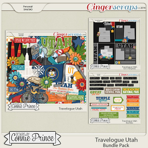 Travelogue Utah - Bundle Pack