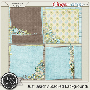 Just Beachy Stacked Backgrounds