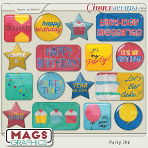 Party On FLAIR by MagsGraphics