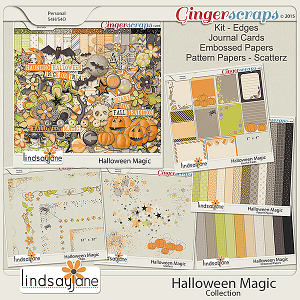 Halloween Magic Collection by Lindsay Jane
