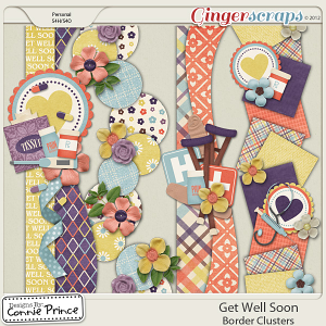 Get Well Soon - Border Clusters