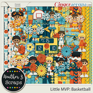 Little MVP: Basketball KIT by Heather Z Scraps