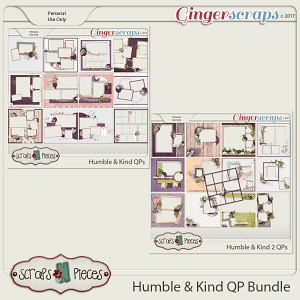 Humble and Kind Quick Page Bundle