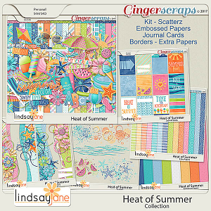 Heat of Summer Collection by Lindsay Jane