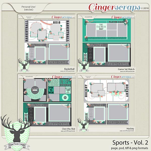 Sports Vol 2 Template Bundle