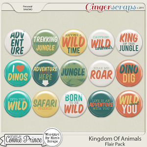 Kingdom Of Animals - Flair Pack