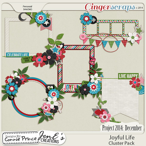 Project 2014 December: Joyful Life - Cluster Pack