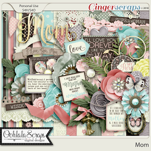 Mom Digital Scrapbook Kit