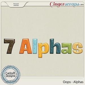 Oops - Alphas