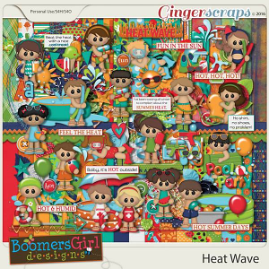 Heat Wave by BoomersGirl Designs