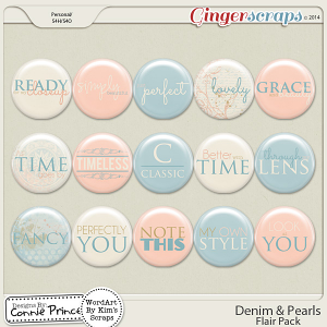 Denim & Pearls - Flair Pack