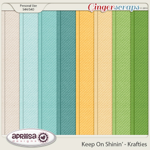Keep On Shinin' Krafties by Aprilisa Designs