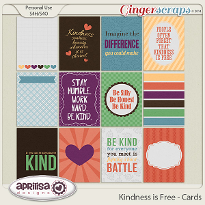 Kindness Is Free - Cards