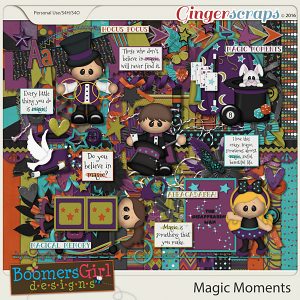 Magic Moments by BoomersGirl Designs