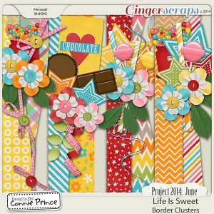 Project 2014 June:  Life Is Sweet - Border Clusters