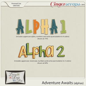 Adventure Awaits {alpha} by Little Rad Trio