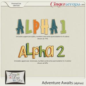 Adventure Awaits {alpha} by Little Rad Trio