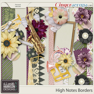 High Notes Borders by Aimee Harrison