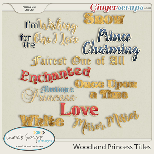 Woodland Princess Titles
