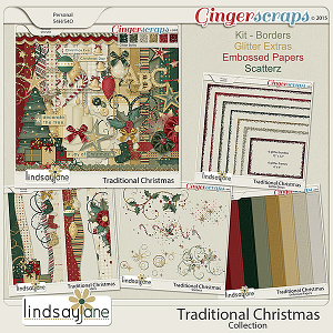 Traditional Christmas Collection by Lindsay Jane