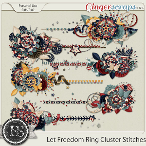 Let Freedom Ring Cluster Stitches
