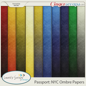 Passport: NYC Ombre Papers