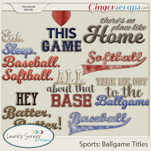 Sports: Ballgame Titles