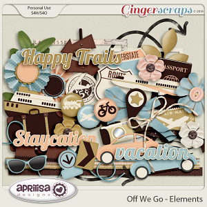 Off We Go Elements by Aprilisa Designs