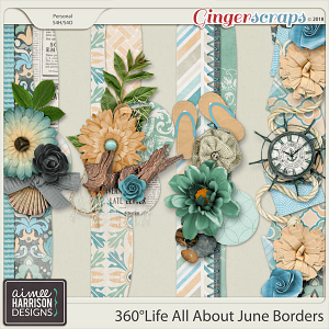 360°Life All About June Borders by Aimee Harrison