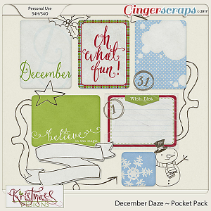 December Daze Pocket Pack