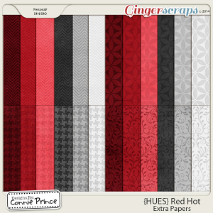 {HUES} Red Hot - Extra Papers