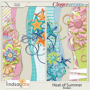 Heat of Summer Borders by Lindsay Jane