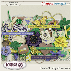 Feelin' Lucky - Elements by Aprilisa Designs