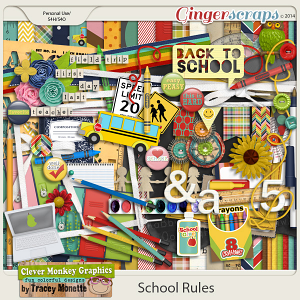 School Rules by Clever Monkey Graphics