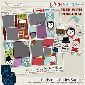 Christmas Cuties Bundle by Miss Fish