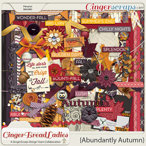 GingerBread Ladies Collab: Abundantly Autumn