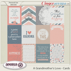 A Grandmother's Love - Cards