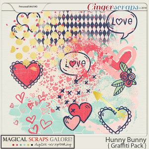 Hunny Bunny (graffiti pack)