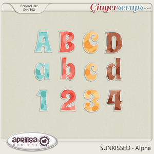 SUNKISSED Alpha by Aprilisa Designs