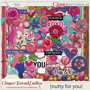 GingerBread Ladies Collab: Nutty For You