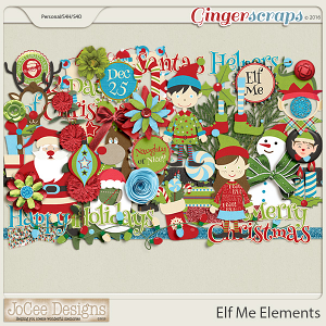 Elf Me Elements by JoCee Designs