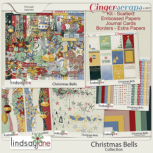 Christmas Bells Collection by Lindsay Jane
