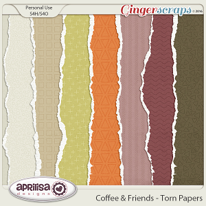 Coffee & Friends - Torn Papers