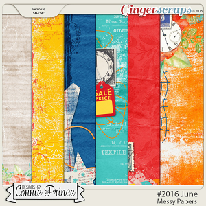 #2016 June - Messy Papers