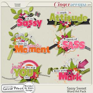 Sassy Sweet - WordArt