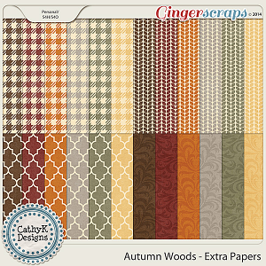 Autumn Woods - Extra Papers